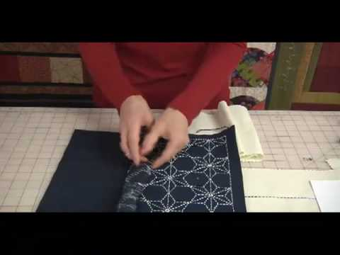 Japanese Sashiko Tutorial & Stitching Basics