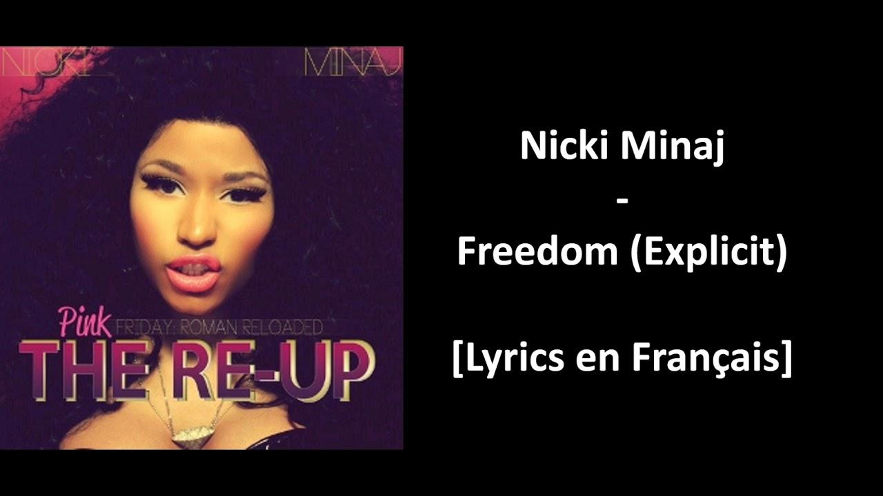 Download Nicki Minaj - Freedom (Explicit) [Lyrics en Français]