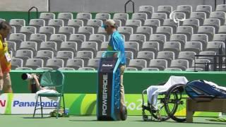 Wheelchair Tennis | Kunieda v Gerard | Men's Singles Quarterfinals | Rio 2016 Paralympic Games