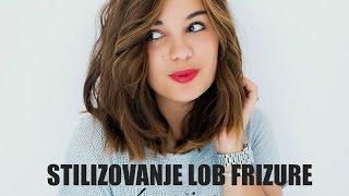Stilizovanje duzeg PAZA - LOB frizure - 4 NACINA