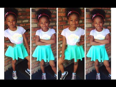 Amazing 8 Year old Fashion Designer