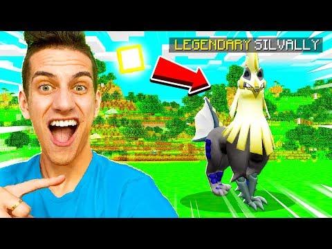 mega-evolvling-secret-shiny-legendary-pokemon-in-minecraft!