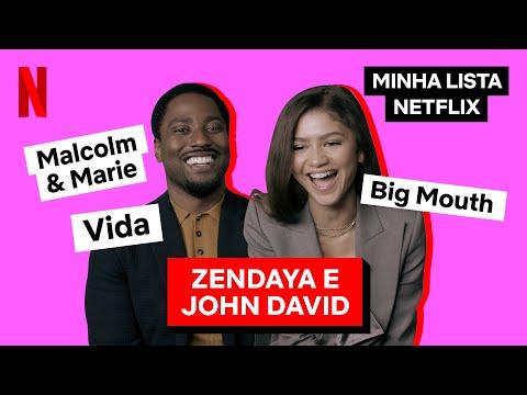 Zendaya falou pro John David Washington assistir Big Mouth   Minha Lista   Netflix Brasil