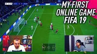 PLAYING FIFA 19 ONLINE EARLY! MY FIRST FIFA 19 ONLINE GAME vs OVVY