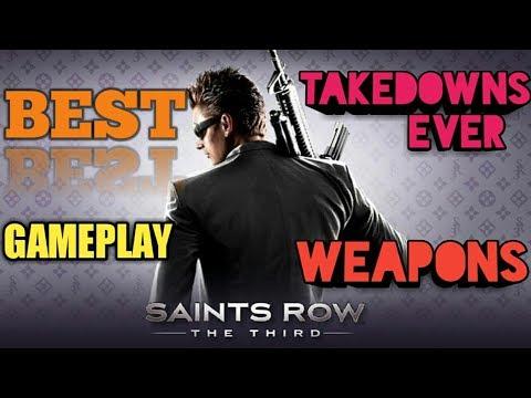 Saints Row: The Third - Open World Gameplay II Saints Row: The Third Best Takedowns II THE STRUGGLER