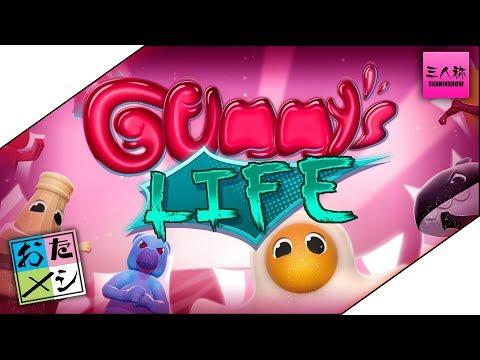 【生放送】ドンピシャ,ぺちゃんこ,鉄塔の'お試し' A Gummy's Life【三人称】END