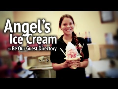 Angel's Ice Cream shave ice shop in Laie, Hawaii, by Be Our Guest Directory