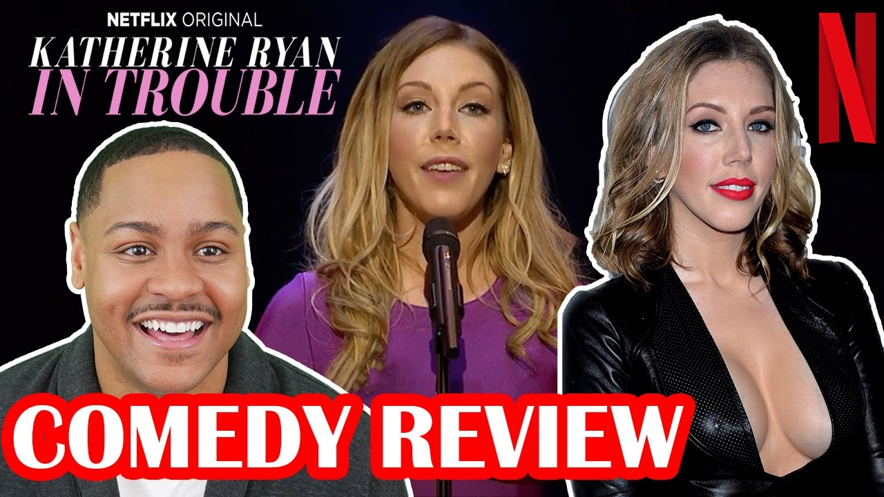 Download Katherine Ryan is funny AF! Netflix In Trouble Review