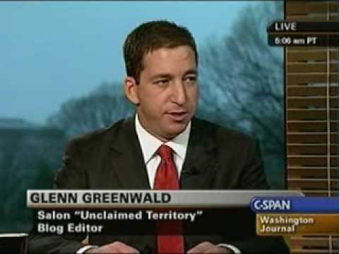 Glenn Greenwald on Washington Journal April 3, 2009 Part 1