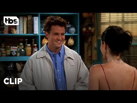 Friends: Chandler and Monica Are Still on London Time (Season 5 Clip)   TBS