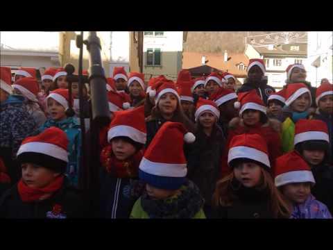 Marché de Noël de Moutier Chants écoliers - 14h00