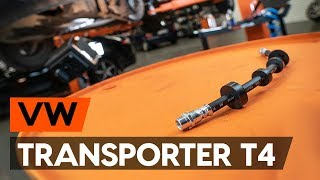 Wie VW TRANSPORTER IV Bus (70XB, 70XC, 7DB, 7DW) Autokühler auswechseln - Tutorial