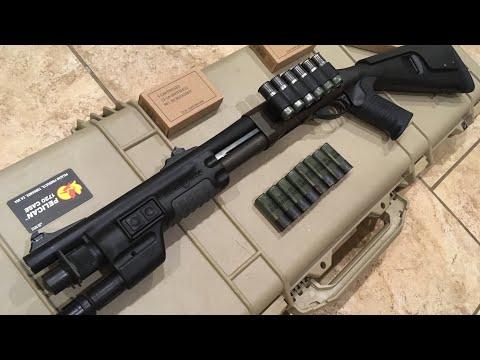 """Remington 870 Police Magnum, 14"""" Short Barreled Shotgun Eform 1 SBS  project. Best upgrades Video"""