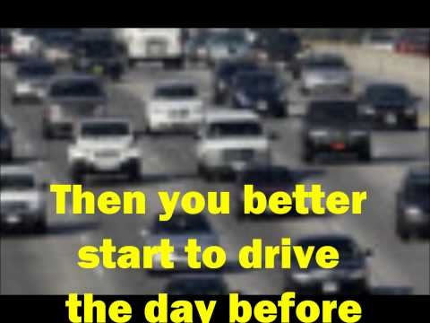 The Los Angeles Traffic Song: Drive the 405