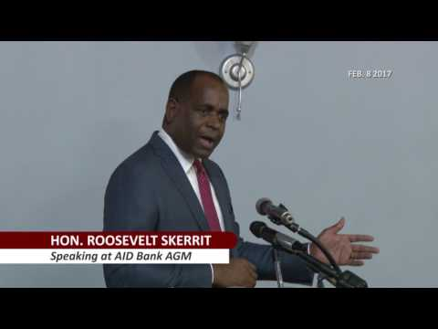 Comment on riot by PM Skerrit during AID Bank AGM