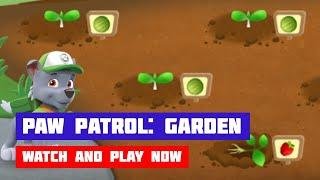 PAW Patrol: Garden Rescue · Game · Gameplay