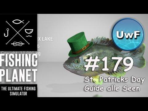 Fishing Planet #179 | St. Patricks Day Event - Kobold / Rowdy Fisch Guide | Alle Event Gewässer