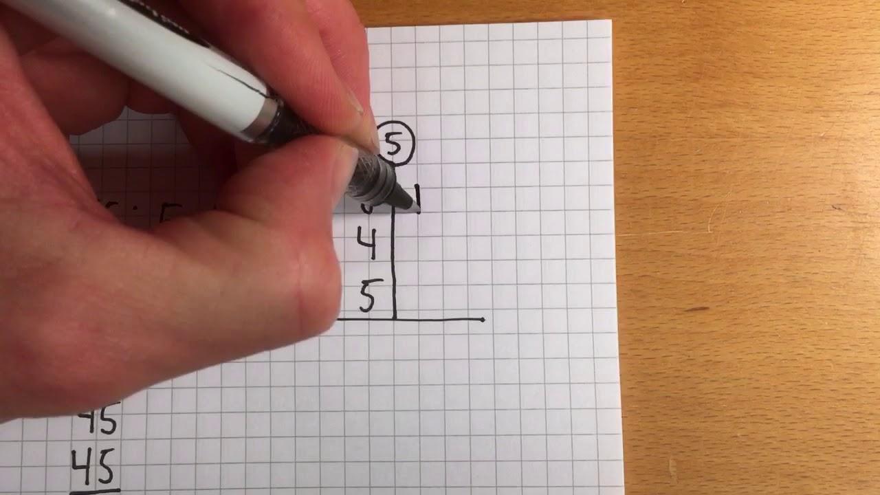 Division på to måder, uden decimaltal