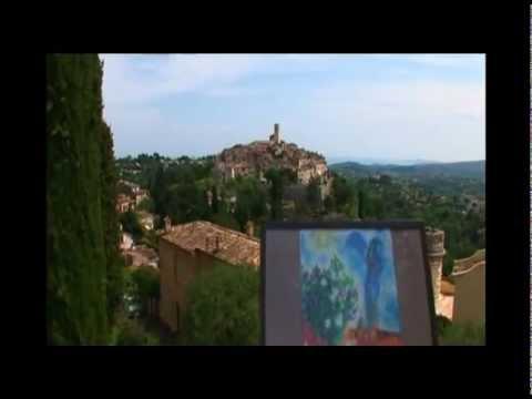 Itinéraire des peintres : Marc Chagall à Saint-Paul de Vence