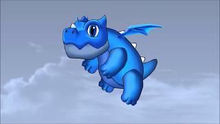 Clash Royale Animation : Electro Dragon