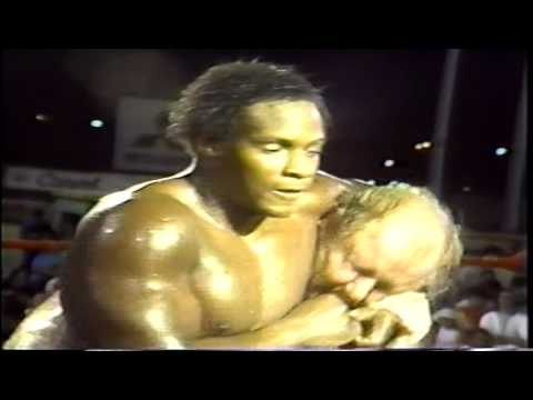 WWC: Dory Funk Jr. vs. Sweet Brown Sugar (1985)