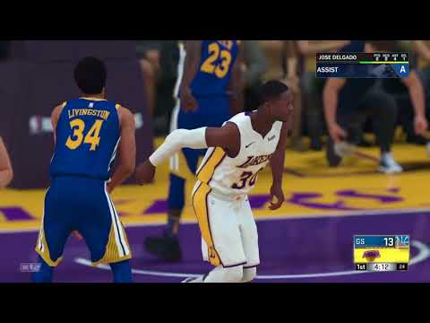 NBA 2K18 My Career Offline Mode PS4 Ep.10 (Can Lakers Make The Playoffs and Mentioning The Spurs)