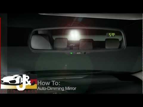 Espejo retrovisor autodimming (oscurecimiento automatico)