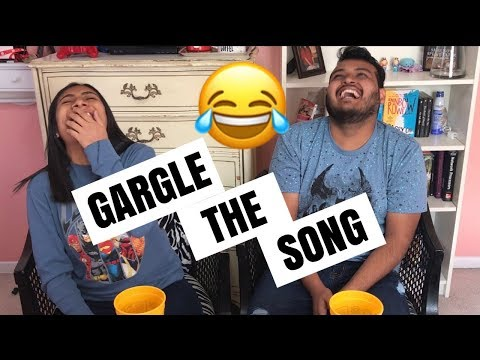 GARGLE THE SONG CHALLENGE
