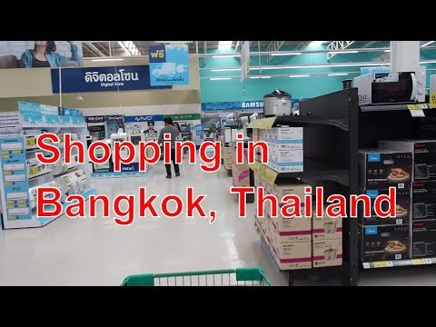 Cost of Living Supermarket foods Bangkok Suburbs Thailand