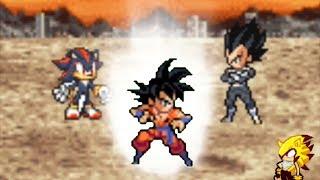 Sonic Adventure DZ Episode 10 fan-animation: goku vs broly