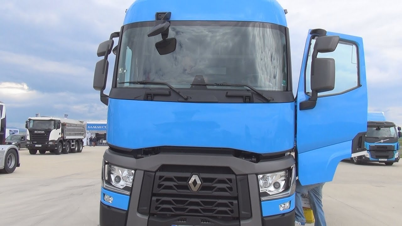 small resolution of test drive of renault trucks t 460 comfort tractor truck