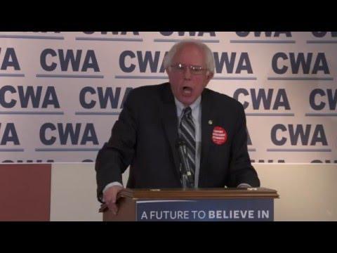 Communications Workers of America Endorsement | Bernie Sanders