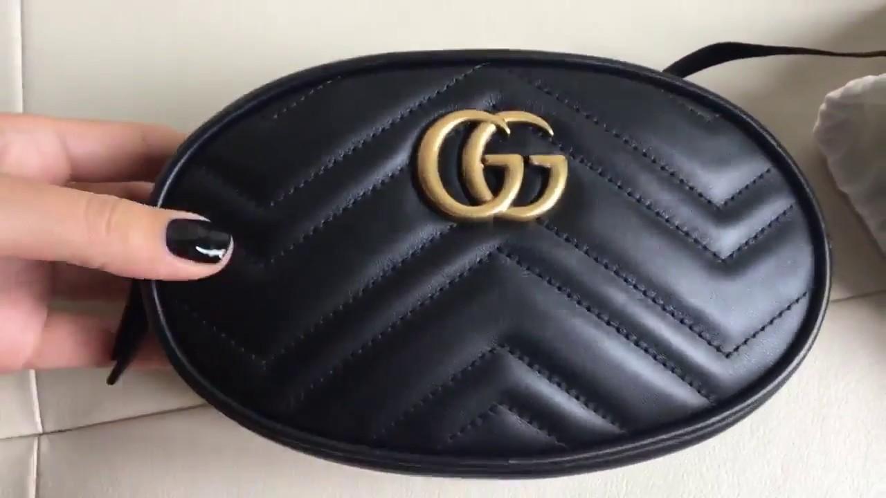 2084415e7ff8 Поясная сумка GG Marmont.Тренд 2018