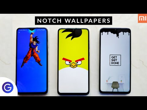 NOTCH WALLPAPERS- Hide Your Smartphone Notch Today | Best Notch Wallpapers For Redmi Note Devices 🤘