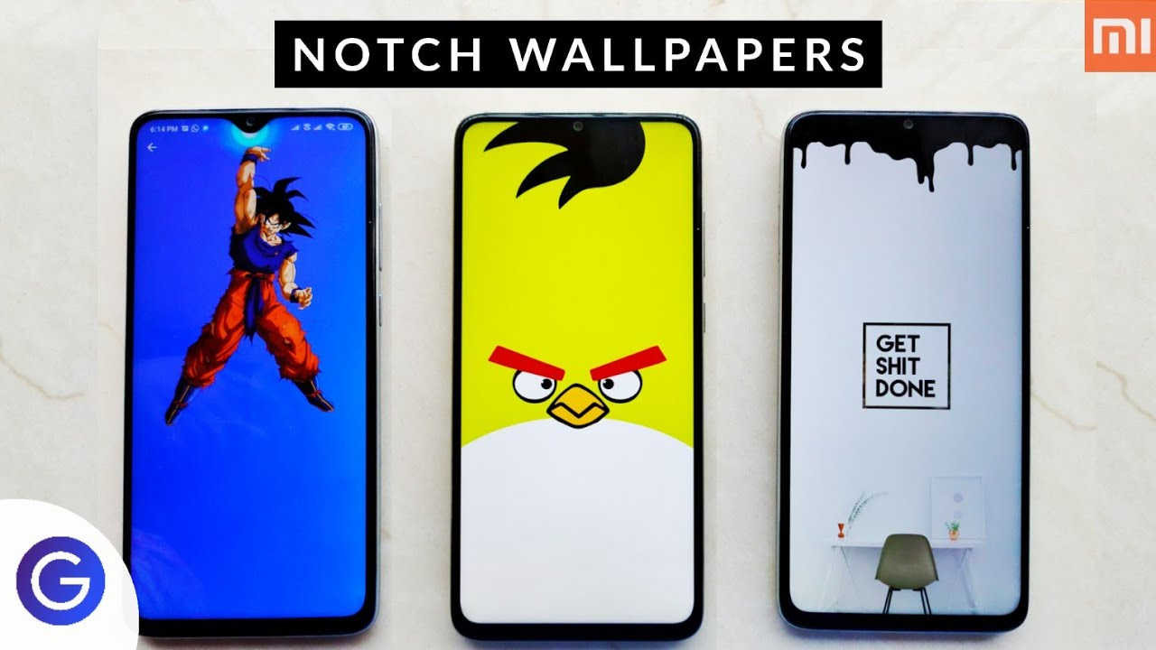 Notch Wallpapers Hide Your Smartphone Notch Today Best Notch Wallpapers For Redmi Note Devices Youtube