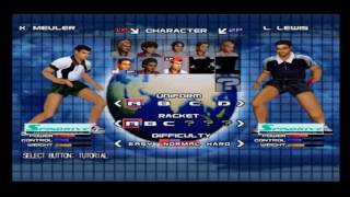 Spin Drive Ping Pong PS2 Gameplay
