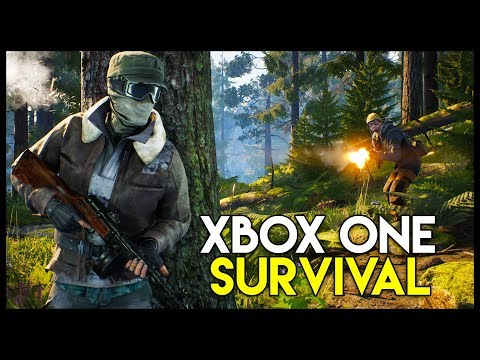 VIGOR! - A GOOD Console Survival Game! - Base Building & PVP! (Vigor Xbox One X Gameplay Part 1)