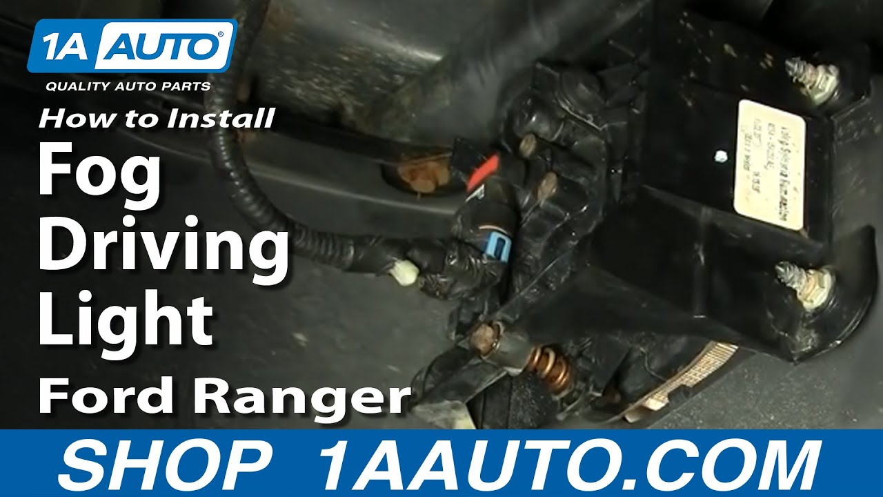 98 Ford Ranger Fog Light Wiring Diagram Libraries T6 How To Install Replace Driving 04 05 1aautohow