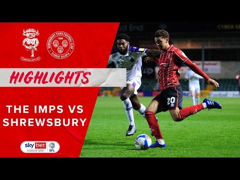Lincoln Shrewsbury Goals And Highlights