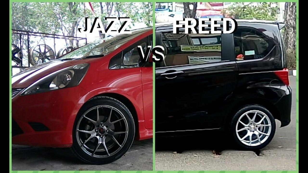Modifikasi Honda Freed Vs Honda Jazz Velg Vorstiner By Vip