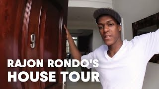Rajon Rondo's house tour