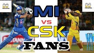 MI vs CSK FANS | IPL | FUNNY VIDEO | two cutting