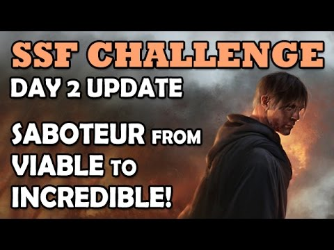 Path of Exile: SSF Day 2 Vlog - What Takes Saboteur Trapper from Viable to INCREDIBLE