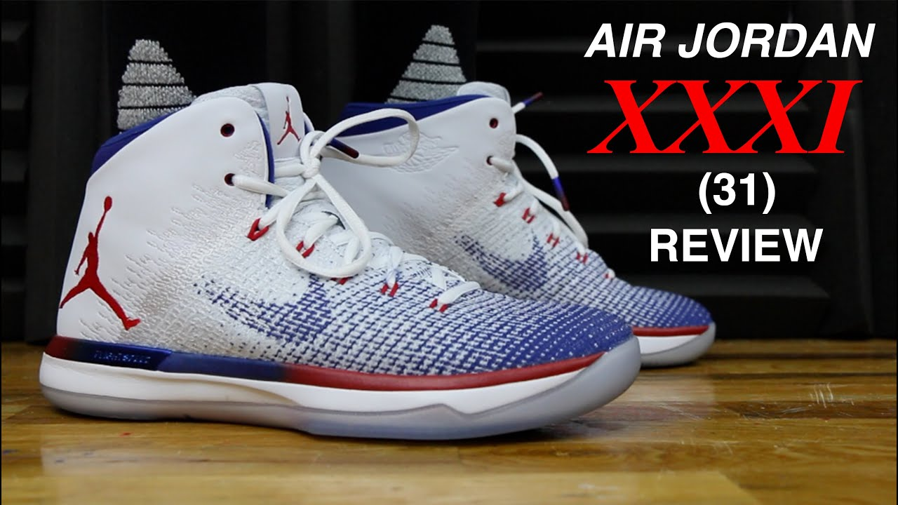 7c448e2cd6957b AIR JORDAN 31 XXXI REVIEW - YouTube