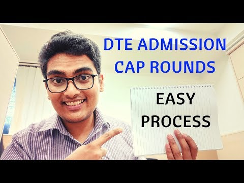 WHAT IS DTE MBA ADMISSION PROCESS? CAP ROUNDS AND ONLINE REGISTRATION.