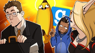 BANANA JESUS, GMOD AT ITS FINEST!! - GMod Deathrun Funny Moments Gameplay (Garrys Mod Funny Moments)