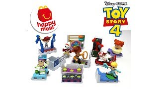 2019 Toy Story 4 McDonald's Happy Meal Full Set Build your own RV