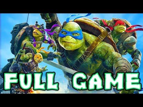 Teenage Mutant Ninja Turtles: Out Of The Shadows FULL GAME Longplay  (PC, X360, PS3)