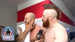 Watch as Sheamus gives a victory kiss to Cesaro: Exclusive, Dec. 14, 2016