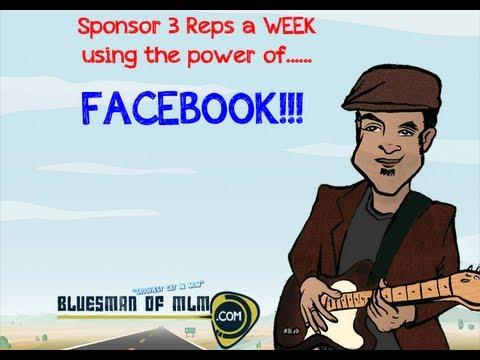 Sponsor 3 People A Week On Facebook!